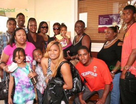 TRAYVON MARTIN FAMILY PHOTO