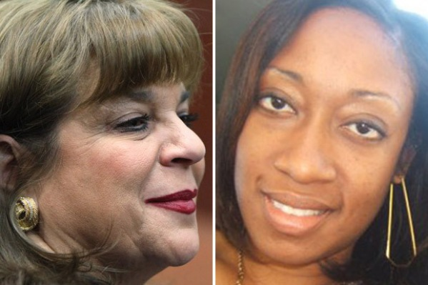 Florida State Attorney Angela Corey and Marissa Alexander