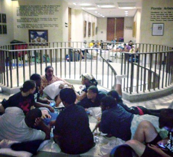Dream Defenders At Sit In At Florida capital