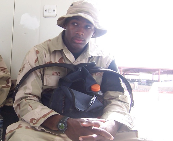Airman Michael Giles Served in War Zones-Victim Florida Justice