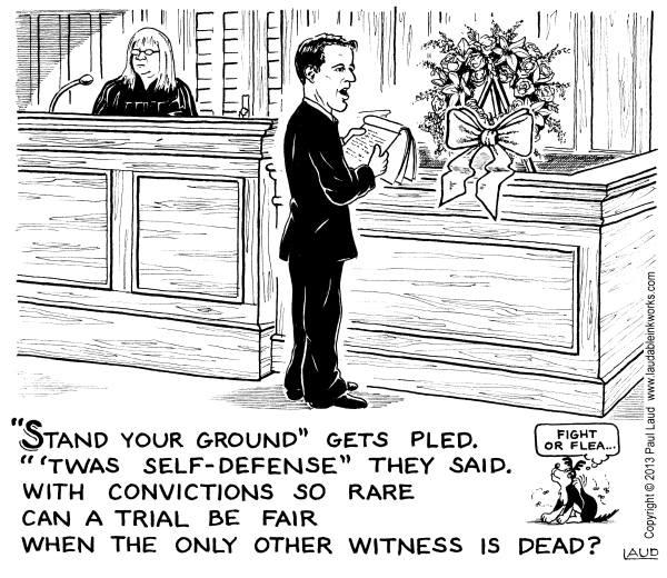 Stand Your Ground Cartoon