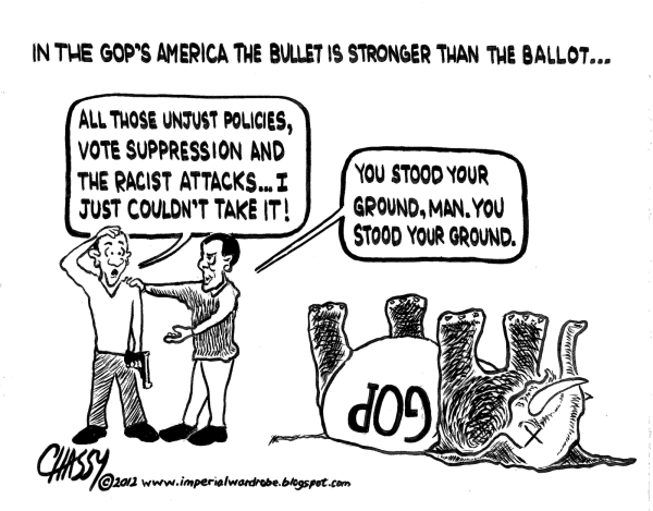 Stand Your Ground Cartoon