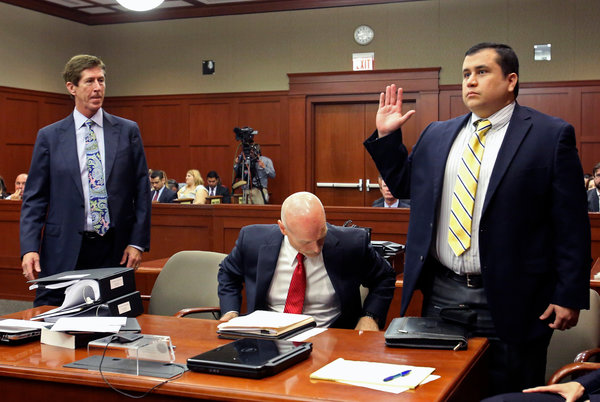 Attorney Mark O'Mara and George Zimmerman