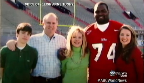Michael Other-Blind Side Family/ Sean, Leigh Ann, Sean Jr. ( S.J.), Collins Tuohy