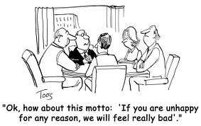 customer service meeting cartoon