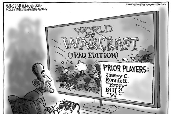 85 IRAQ WAR BY VARIOS LEADERS