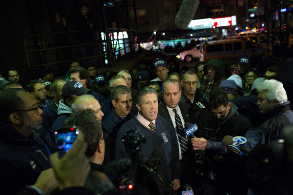 NY Police Union Leaders