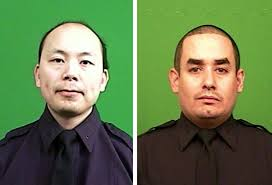 Brooklyn Police Officers Wenjian Liu and Rafael Ramos