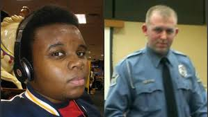 Michael Brown and Officer Darren Wilson