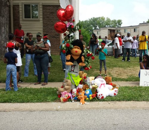 Michael Brown's Memorial