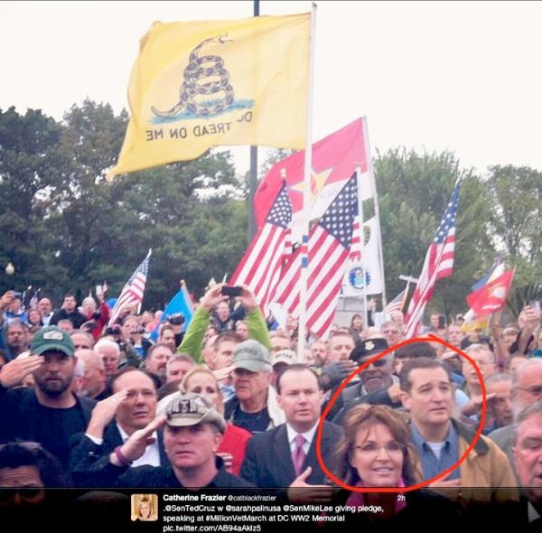 Tea Party Rally with Sarah Palin