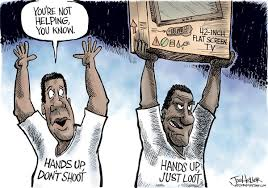 untitled hands up..just loot ferguson
