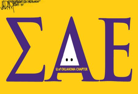 UO-SAE MEMBERS CAUGHT ON VIDEO SINGING RACIST CHANTS