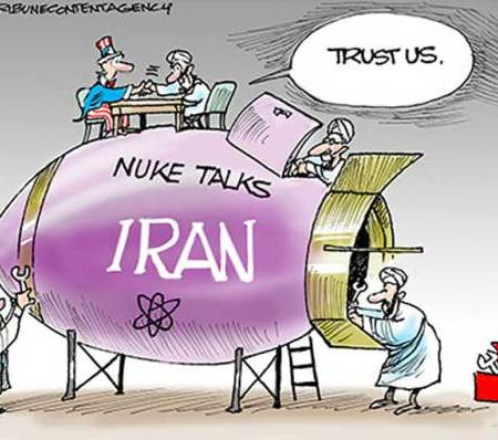 HOW THE RIGHT FEELS ABOUT U.S. AND IRAN TALKS