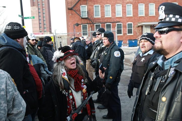 HOMAN SQUARE PROTESTS