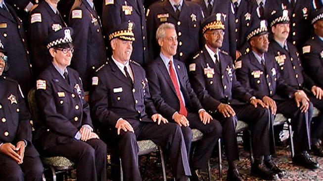 CHICAGO POLICE GRADUATION