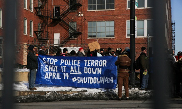 Protest-Against-The-Homan-Square-Police-Facility