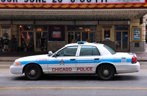 shutterstock_157065551 CHICAGO POLICE CAR