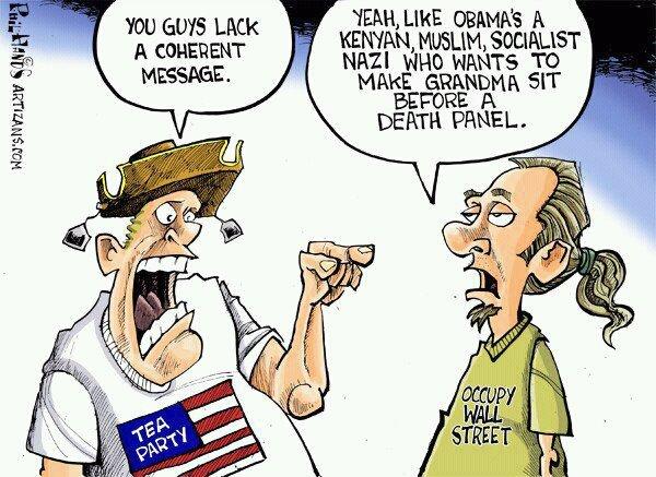 Tea-Party-Occupy-Cartoon GOOD CHOICE