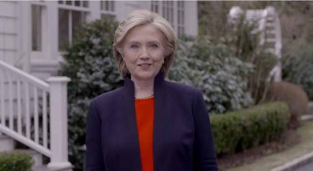 Hillary Clinton has announced she is asking for your vote to be our next US President.