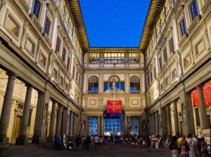 Italy, Tuscany, Florence, Uffizi gallery