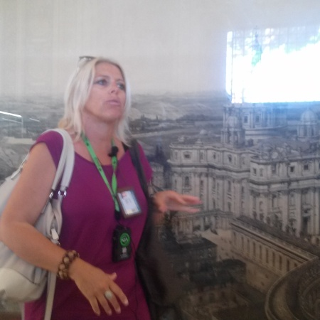 "Our tour guide, Uta from ""Walks of Italy"" tours"