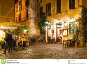 Old-street-Trastevere