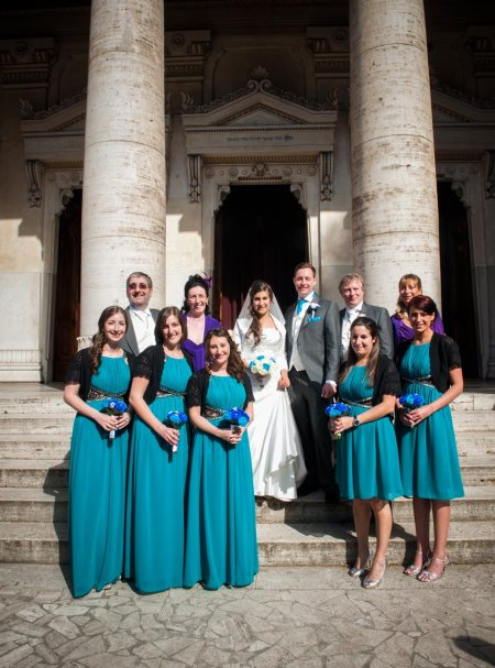 WEDDING AT GREAT SYNAGOGUE OF ROME
