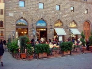Caffé Rivoire on the Piazza della Signora