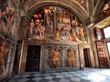 One of Four Raphael Rooms in the Vatican