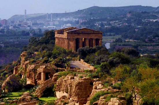 Agrigento. Valley of the Temples