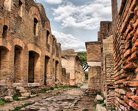 RUINS AT OSTIA ANTICA