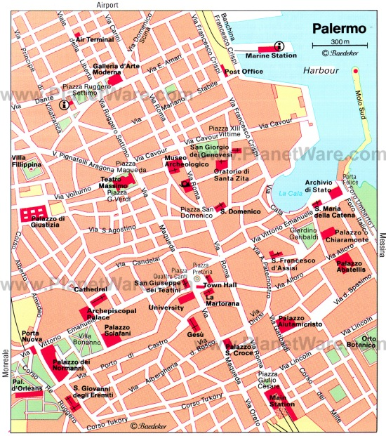 CITY MAP OF PALERMO