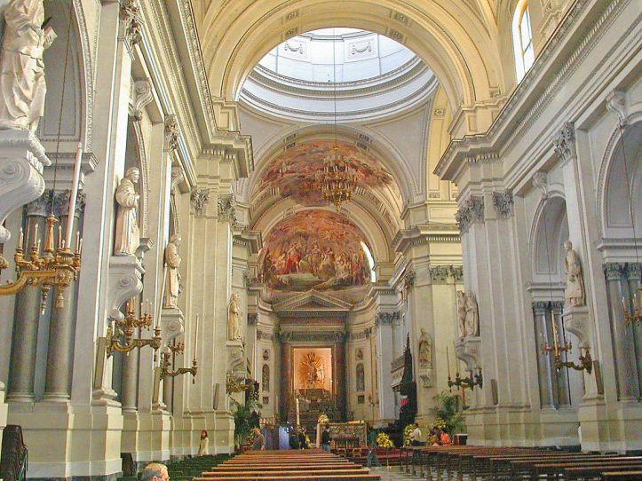 INTERIOR OF PALERMO CATHEDRAL/ CATTEDRALE DI PALERMO