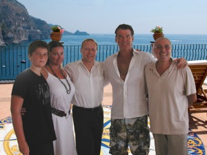 Pierce Brosnan has been a guest at Hotel Onda