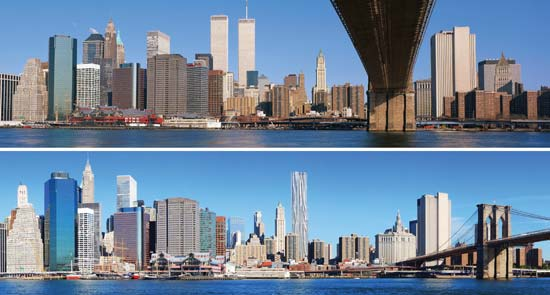9/11-BEFORE AND AFTER