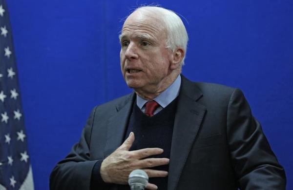Arizona US Senator John McCain