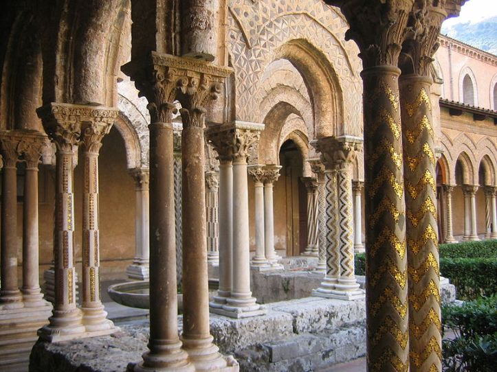 MONREALE CATHEDRAL CLOISTER