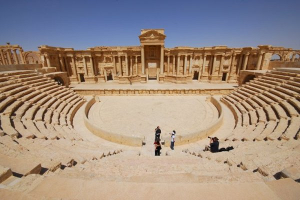 Representation of Palmyra in Syria before destruction by ISIS
