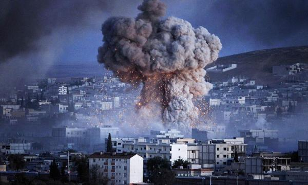 Explosion in Kobani