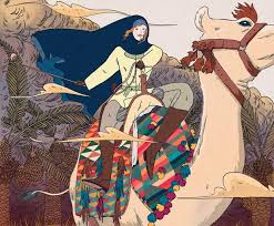 IRAQI PAINTING OF GERTRUDE BELL