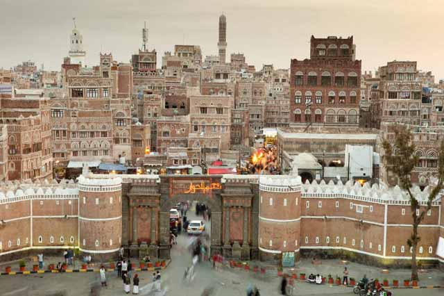 Bab-al-Yemen/ IT WOULD BE A SHAME TO SEE THIS WALLED CITY DESTROYED BY ISIS
