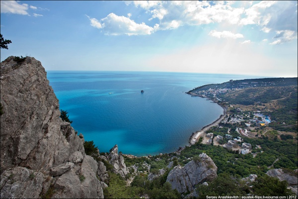 Southern coast of Crimea