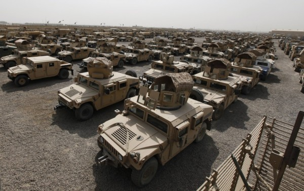 HUMVEES LOST TO ISIS