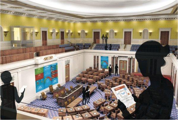 senate-gallery--Edward M. Kennedy Institute