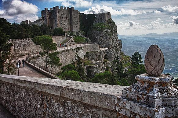 Erice-Castle View