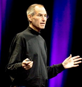 Apple co-founder Steve Jobs, seen in this file photo from June 9, 2008.