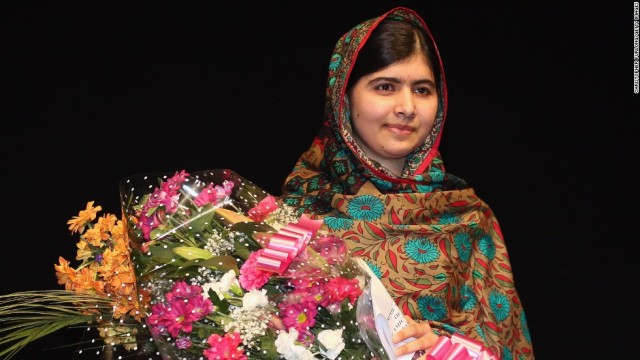 Malala Yousafzai. Nobel Peace Prize Winner