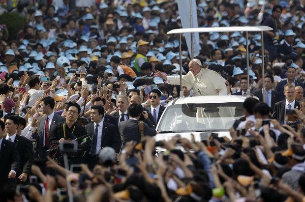 POPE'S PHILADELPHIA VISIT