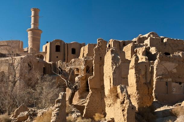 Kharanaq old city, Iran.